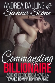 Book cover for Commanding the Billionaire